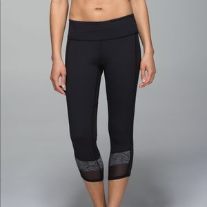 NEW lululemon If You're Lucky Crop